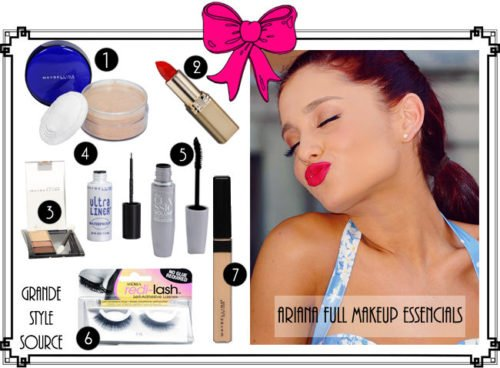 Ariana grande eye makeup